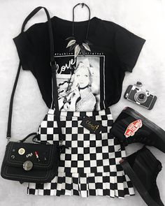 cute kawaii korean daily style fashion - New Site Edgy Outfits, Teen Fashion Outfits, Grunge Outfits, Cute Casual Outfits, Cute Fashion, Daily Fashion, Summer Outfits, Style Fashion, Grunge Shoes