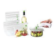 Kit para el empaquetamiento al vacío de alimentos