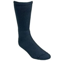 Wigwam Socks F1055-052 Mens Black Ring-Spun Cotton Crew Socks