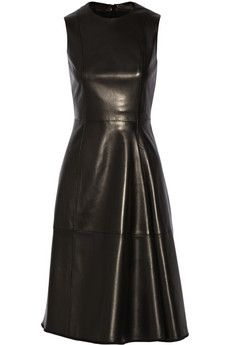 The Row Ottamae leather dress | NET-A-PORTER Simple but powerful, love it!