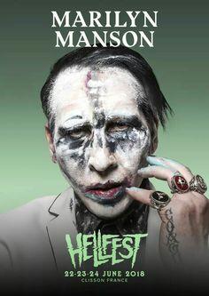 Marilyn Manson will play Hellfest 2018