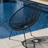 Found it at Temple & Webster - Acapulco Chair Replica Outdoor Wicker