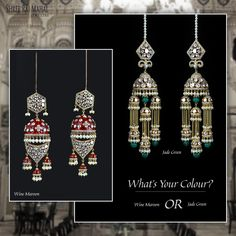 #Chooseyourpick. At Shree Raj Mahal Jewellers, our master designers work relentlessly to add different colour tints with semi-precious stones for a vibrant, splendid look. Choose your colour by visiting our store in South Extension, New Delhi or call us at 011 4035 4035/4025 4025. #SRM #shreerajmahaljewellers #Trustedjewellers #Customerexperience #exquisitedesigns #delhi #southex #jewellersouthdelhi #innovativedesigns #southdelhijewellery #Bestjewellers #jewelleryoftheweek #earrings