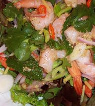 Hot spicy shrimp salad | Ideal Protein Recipe | Ideally You