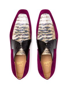 CHRISTIAN LOUBOUTIN | New Orleans Suede Dress Shoes | Browns