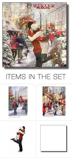 Winter magic in London ! Winter Magic, My Passion, Polyvore, Scene, London, Artwork, Painting, Collection, Design