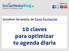 10 claves para optimizar tu agenda diaria