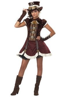 Gothic Steampunk Costume [Price: $33.09 - $42.97 ]