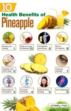 Benefits of eating pineapple sexually