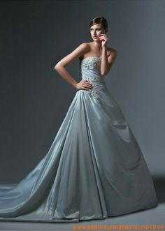 2013 Extravagantes Brautkleid A-Linie kaufen online
