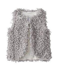 Warm Fuzzies Vest by Hanna Andersson