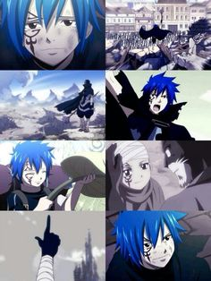 God, it just never quit with Jellal and Mystogan. When I saw the blue hair on the kid that Pantherlily saved before he was shown as Mystogan, and oh my god.