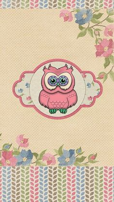 ❣Owlie Retro Wallpaper by iCandy❣ http://reeseybelle.blogspot.ca/