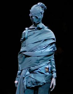 I want to cut up all my old coats and make a awesome new one like this now.    undercover Jun Takahashi, FW'06.