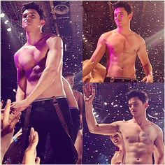 Cutie and sexy hunk James Reid at the 2014 Cosmo Bachelor Bash.