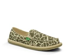 I'm Game (giraffe) - womens - The perfect Sanuk to set your inner Queen of the Jungle free. www.sanuk.com