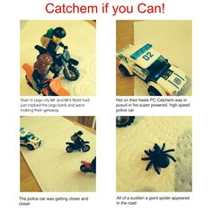 Creating lego photo stories with your kids