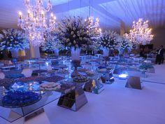 Decoração, arte floral, Iluminação.