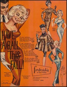 Frederick's of Hollywood catalogue, Fall, 1963