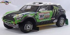 Dakar 2012 All 4 Racing Mini #302 Peterhansel/Cottret 1/43