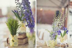 Lemon & Purple Rustic North Carolina Wedding | Melissa Stallings Photography | Lovebird Productions Blog