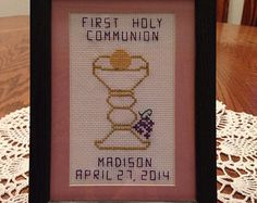 First Communion Banner idea
