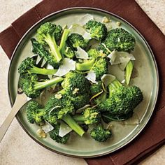 Lemon-Parmesan Broccoli   CookingLight.com