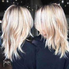 14 More Easy and Pretty Short Hairstyles For Fine Hair – Hair Styles Medium Length Hair With Layers, Medium Hair Cuts, Short Hair Cuts, Medium Hair Styles, Short Hair Styles, V Haircut With Layers, Choppy Layers For Long Hair, Medium Fine Hair, Fine Hair Cuts