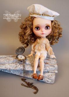 OOAK custom BLYTHE doll Time Traveller by by BlytheFairyTales