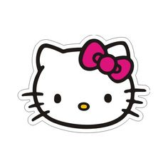 A Hello Kitty party is fun for girls of all ages. Here are Hello Kitty party ideas to help you host a celebration that's sugar, spice, and everything nice.Lots of ideas for planning a Hello Kitty theme party, including suggestions for invitations, de Kitty Party, Hello Kitty Theme Party, Hello Kitty Themes, Hello Kitty Birthday, Hello Kitty Clipart, Hello Kitty Crafts, Hello Kitty Bow, Hello Kitty Printable, Hello Kitty Face Paint