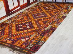 430x220 cm antik orient Teppich Afghan Uzbek von KabulGallery