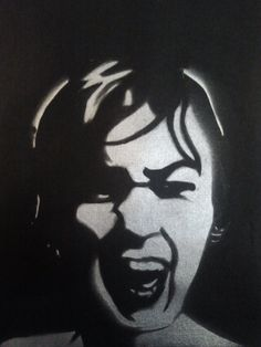 Scream by PaintingsThatPop on Etsy, $25.00