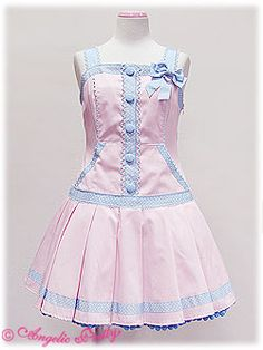 Angelic Pretty / Jumper Skirt / POP DAY JSK