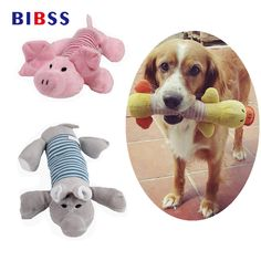 Home & Garden Pet Products Good Pet Dog Squeaky Plush Squeaker Sound Chew Fetch Interactive Toy For Puppy Funny Fleece Durability Plush Dog To Hundespielzeug *d