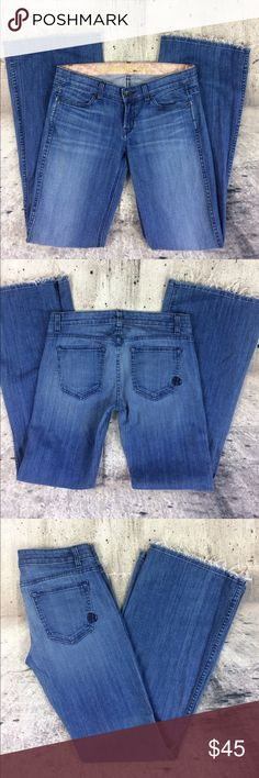 """Rich & skinny flare jeans Rich & skinny flare jeans cotton and spandex blend inseam 34"""" rise 7.5"""" no hem Rich & Skinny Jeans Flare & Wide Leg"""