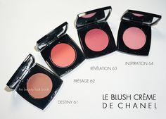 Acho que quero todos... - Le Blush Crème de Chanel