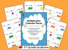 This 7-page freebie include 31 calendar pieces to spice up your calendar routine while challenging your students.  There is also a pattern that is ...