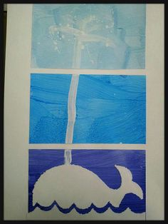 Tríptic del projecte de les balenes. 4 anys.