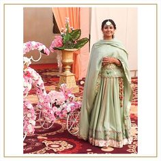 Every outfit tells a story. A story of culture. a story of tradition. Our beautiful client in a traditional attire by… Dress Indian Style, Indian Fashion Dresses, Indian Designer Outfits, Punjabi Suits Designer Boutique, Boutique Suits, Embroidery Suits Punjabi, Embroidery Suits Design, Lehnga Dress, Lehenga