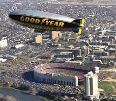 The Blimp over the Shoe!