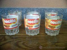 Los vasos de Nocilla