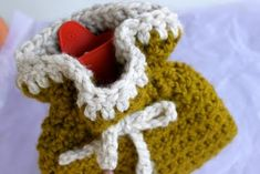 Crochet Hot Water Bottle Cozy | Prudent Baby--How cute is that!