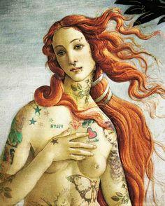 venus tattoo by francescanoemi