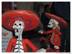 Ofrendas y Muertos en Coyoacán 2014