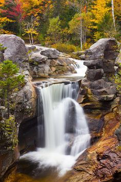 ✯ Screw Auger Falls - Grafton Notch State Park, Maine