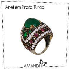 Anel em Prata Turca | Amandhí | www.amandhi.com |