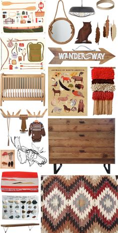 Camp Out in the Nursery - INSPIRATION