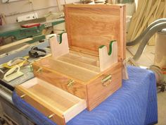 woodworking plans gun cleaning box