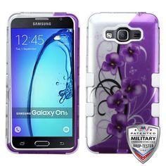MYBAT TUFF Graphics Samsung Galaxy On5 Case - Twilight Petunias