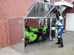 Die Motorradgarage - Beschreibung